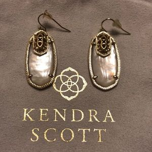 Kendra Scott Custom Color Bar Elle Earrings
